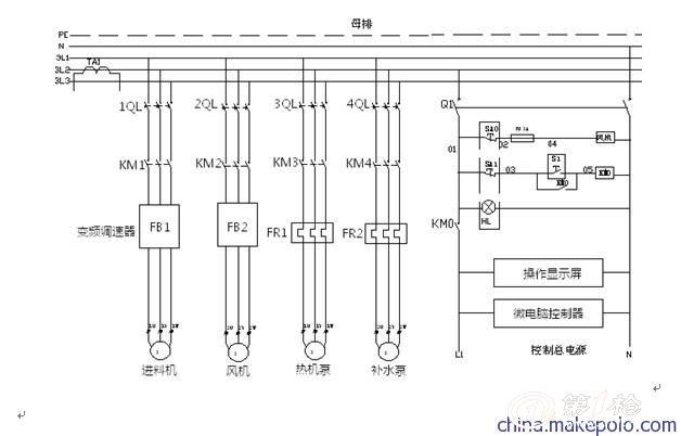 六,主电路原理图