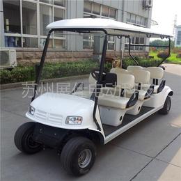 宁波义乌6座高尔夫球车 电动楼盘看房车 港口码头四轮电动车