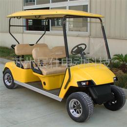 丽江4座看房车 景区游览休闲电瓶车 高尔夫球车售后保障