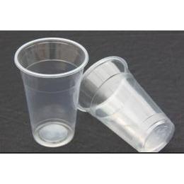 <em>一次性</em>透明塑料水杯 <em>PP</em> PS<em>材质</em>  可印刷商标 客户标志
