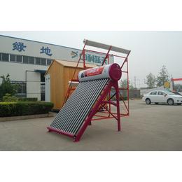太阳能热水器集中供热工程太阳能热水器模块工程安装
