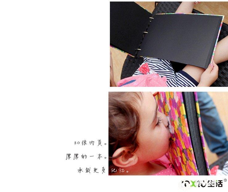 韩国文具批发 手绘系列十寸diy相册繁花系列-玫瑰1560