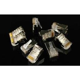 供应amp安普水晶头569530-3安普超五类水晶头 屏蔽水晶头