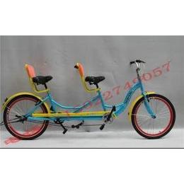 供应路奇士双人自行车休闲行车风景区出租旅游观光