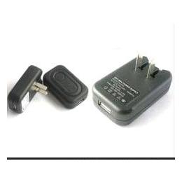 批发 折叠脚美规 USB<em>手机充电器</em> <em>迷你</em>DV充电器批发 带充电保护