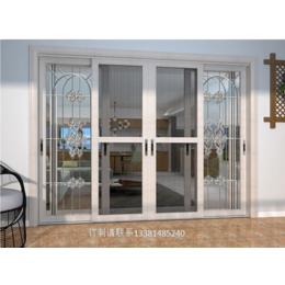 华健型材3D木纹断桥铝门窗