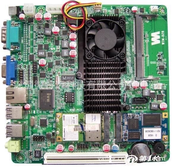 微特迈科技d26 dc电源迷你电子盘主板