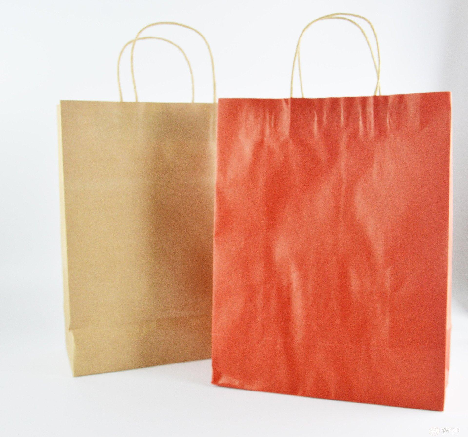 牛皮纸袋 手提袋 服装包装袋 通用纸袋 礼品袋子专业订做批发定制