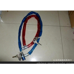 厂家直销猛钢链条锁,100cm钢节锁