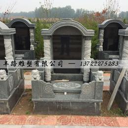 中国黑墓碑 花岗岩组合墓碑价格缩略图