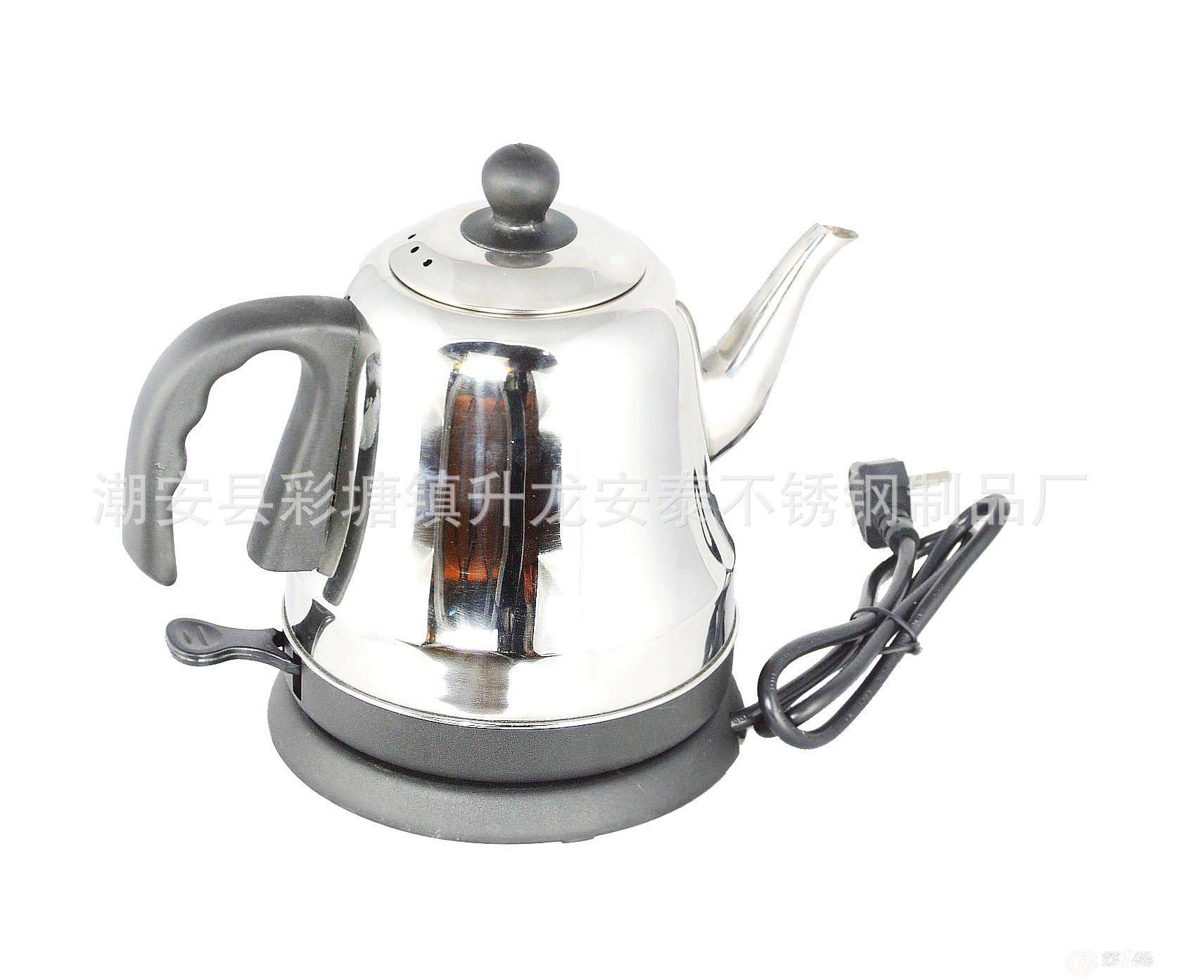 批发不锈钢电热水壶 快速壶 防干烧壶 电水壶 新创意促销礼品电器