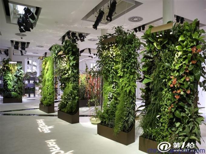 园林设施 围墙/景墙 供应沈阳索尔 立体花坛垂直绿化墙室内外植物墙
