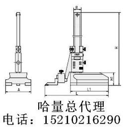 电子数显高度卡尺 北京哈量总代理 哈量量具刃具 双环量具