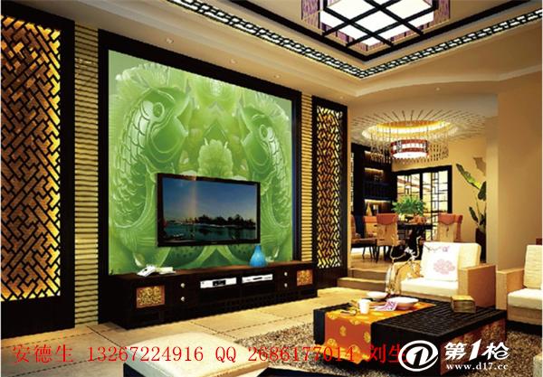 最热销创业设备3d玻璃陶瓷电视背景墙印花机让您的家更美