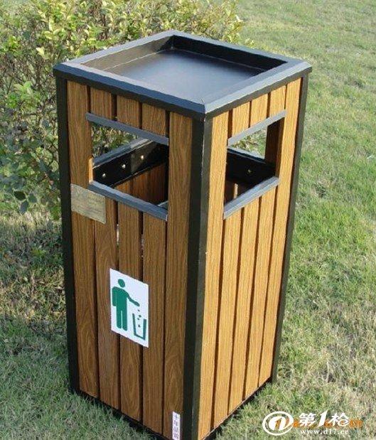 供应自然缩小型镀锌钢垃圾桶