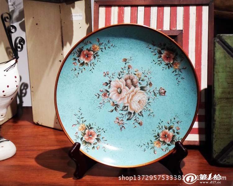 家居用品,母婴,玩具 餐饮用品 餐具 碗,碟,盘,盆 欧式陶瓷经典圆盘 摆图片