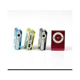 厂家直销SD卡潮款苹果小夹子MP3 迷你运动型 音乐播放器 批发 MP3