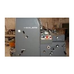 供应92年产海德堡GTO52酒精单色印刷机