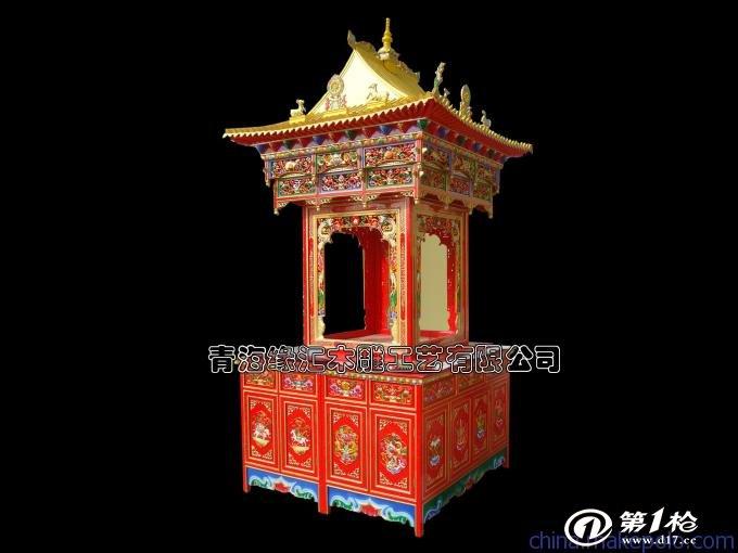 供应格桑花f30--2藏式佛龛图片