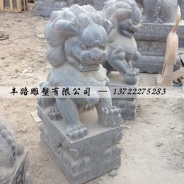 花岗岩石狮子 天然石头石狮子价格