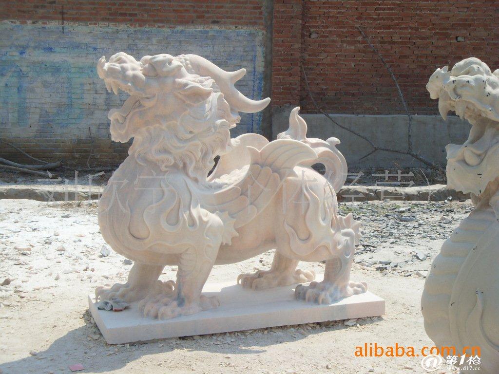 饰品,工艺品,礼品 其他工艺品 石膏,石料工艺品 雪花白石雕鹤 动物