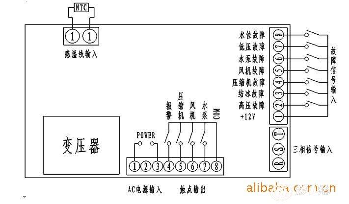 供应冷水机电子控制板