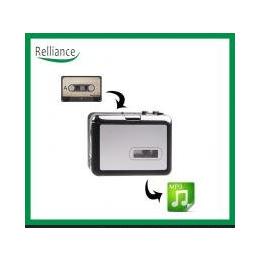 白色TF卡带机 磁带转mp3转换器 直录U盘或TF卡