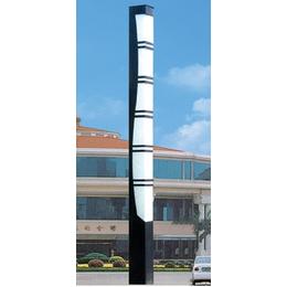 路灯厂家直销商业广场户外景观路灯照明灯具斜口灯柱圆柱庭院灯