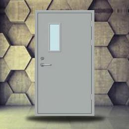 肥东县甲级钢质防火门 颜色可选 防火阻燃 低价直销包验收