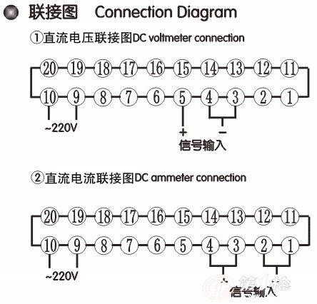 供应数显仪表sc3-av20v三位半交流电压表_电压测量_第