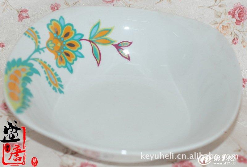 批发外贸陶瓷尾单 大量供应手绘陶瓷方形果盘