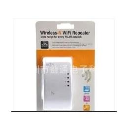 大量现货300M无线网络信号放大器Wifi信号增强Repeater AP中继器