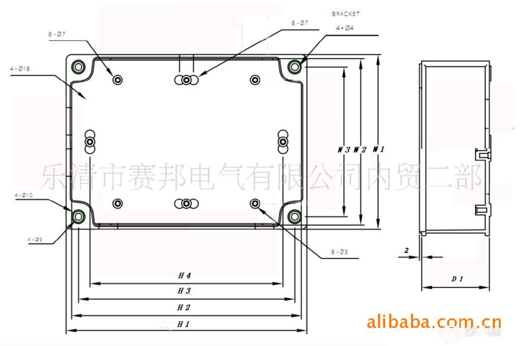 6防水盒,接线盒