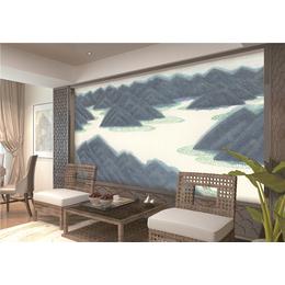 ZGF009中国风系列全屋定制3D背景墙3D墙布