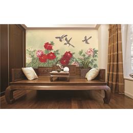 ZGF007中国风系列全屋定制3D背景墙3D墙布