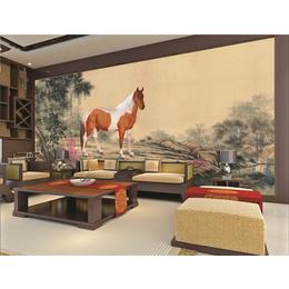 ZGF002中国风系列全屋定制3D背景墙3D墙布