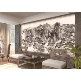 ZGF008中国风系列全屋定制3D背景墙3D墙布