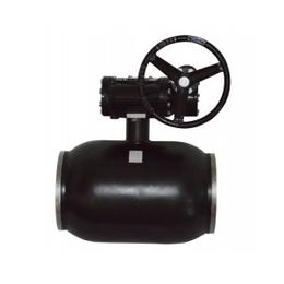 卓科阀门生产直销 碳钢蜗轮全焊接球阀 全焊接阀门