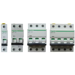供应施耐德小型断路器 IC65N 2P C1A C63A