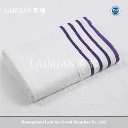 莱棉酒店用品16S进口棉色织毛巾 星级酒店毛巾浴巾面巾方巾