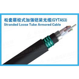 长光松套层绞式加强铠装光缆