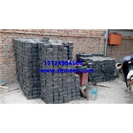 中国黑蒙古黑石材凿击面