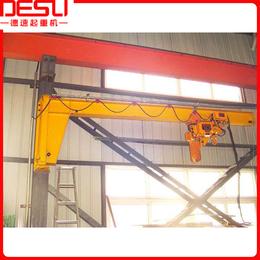 厂家直销1000kg墙壁式电动旋臂吊墙壁式悬臂吊起重机