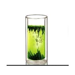 双层<em>玻璃杯</em>透明水杯 情侣<em>玻璃</em><em>杯子</em>套装水杯正品便携创意茶杯