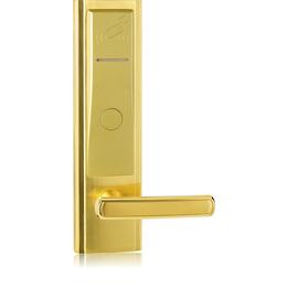 佰特8008PVD真空电镀酒店感应卡门锁系统 宾馆锁系统更换