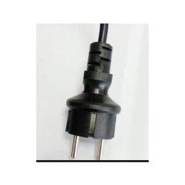 供应电源线插头 欧式插头电源线 两角插头 TUV