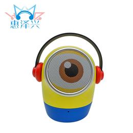2016新款蓝牙音箱小黄人无线蓝牙音响便携式插卡音响厂家定制