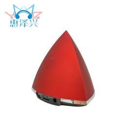 新款三角形金字塔炫彩灯光插卡蓝牙音箱 无线手机免接通话音响