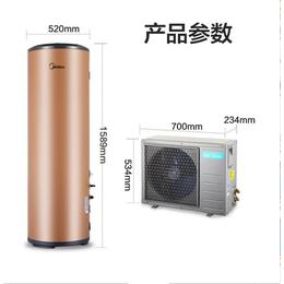Midea美的空气能热水器200升空气源热泵家用