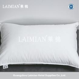 莱棉星级酒店床上用品全棉面料 羽丝棉枕立体枕头芯 枕头批发
